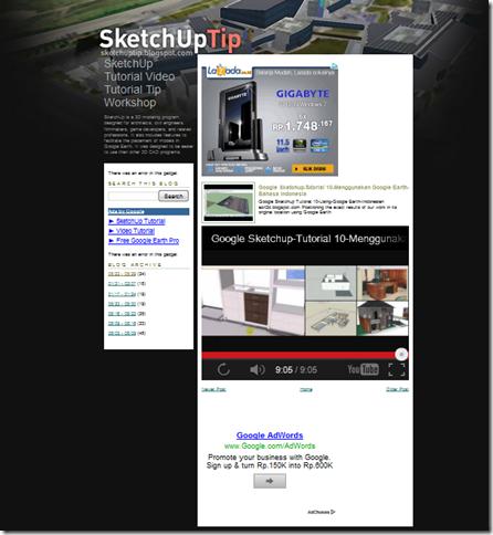 tutorial sketchup bahasa indonesia pdf